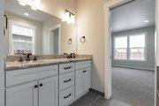 Craftsman Style House Plan - 3 Beds 2.5 Baths 1942 Sq/Ft Plan #1070-53 Interior - Master Bathroom