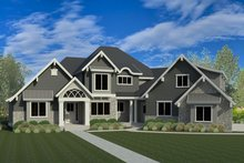Traditional Exterior - Front Elevation Plan #920-81