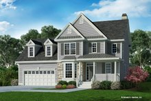 Country Exterior - Front Elevation Plan #929-596