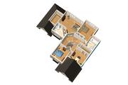 European Style House Plan - 4 Beds 2 Baths 2766 Sq/Ft Plan #25-4713 Floor Plan - Upper Floor Plan