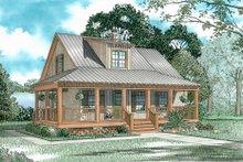 House Plan Design - Cottage Exterior - Front Elevation Plan #17-2015