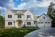 Colonial Style House Plan - 4 Beds 2.5 Baths 2608 Sq/Ft Plan #928-289 Exterior - Front Elevation