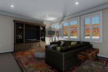 Traditional Interior - Family Room Plan #1060-60