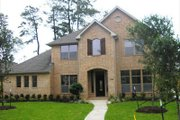 European Style House Plan - 4 Beds 3.5 Baths 3367 Sq/Ft Plan #449-5 Exterior - Other Elevation