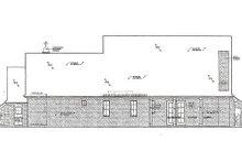 Home Plan - European Exterior - Rear Elevation Plan #310-958