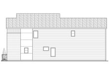 Dream House Plan - Modern Exterior - Other Elevation Plan #124-920