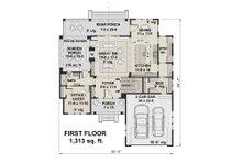 Farmhouse Floor Plan - Main Floor Plan Plan #51-1148