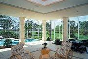 Mediterranean Style House Plan - 4 Beds 5.5 Baths 5464 Sq/Ft Plan #930-101 Exterior - Outdoor Living