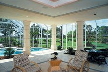 Architectural House Design - Mediterranean Exterior - Outdoor Living Plan #930-101