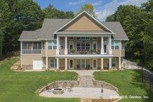 Architectural House Design - Cottage Exterior - Rear Elevation Plan #929-992