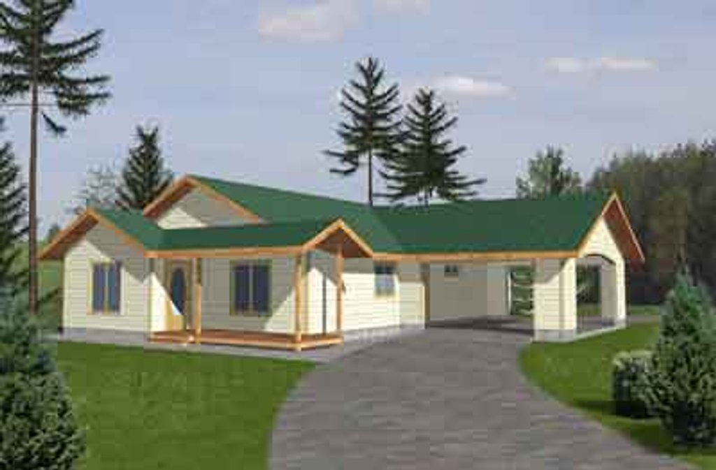 Traditional Exterior - Front Elevation Plan #117-286
