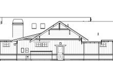 Architectural House Design - Craftsman Exterior - Other Elevation Plan #895-109