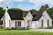 Cottage Style House Plan - 3 Beds 2 Baths 1769 Sq/Ft Plan #406-9665 Exterior - Front Elevation