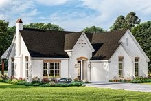 Cottage Exterior - Front Elevation Plan #406-9665