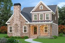 Home Plan - Traditional Exterior - Front Elevation Plan #419-214