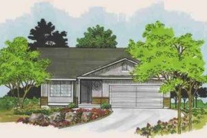 Traditional Exterior - Front Elevation Plan #308-137