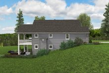 Architectural House Design - Cottage Exterior - Other Elevation Plan #48-969
