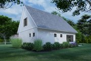 Cottage Style House Plan - 3 Beds 2 Baths 1302 Sq/Ft Plan #120-273 Exterior - Rear Elevation