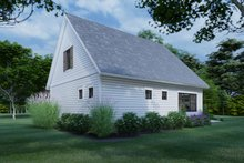 House Plan Design - Cottage Exterior - Rear Elevation Plan #120-273