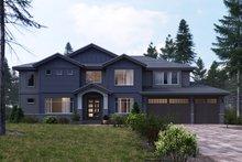 Craftsman Exterior - Front Elevation Plan #1066-20