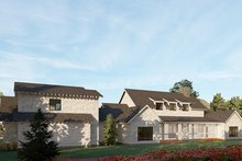 Dream House Plan - Country Exterior - Rear Elevation Plan #923-199