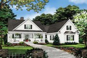 Farmhouse Style House Plan - 3 Beds 2.5 Baths 2187 Sq/Ft Plan #929-1053 Exterior - Front Elevation