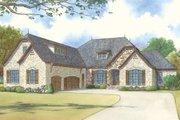European Style House Plan - 4 Beds 4 Baths 2849 Sq/Ft Plan #923-16