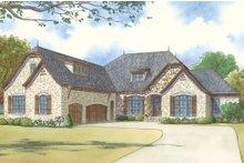 House Plan Design - European Exterior - Front Elevation Plan #923-16