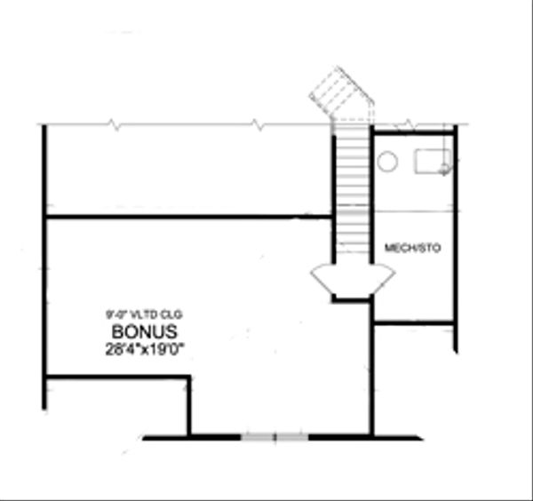 Craftsman Floor Plan - Other Floor Plan #456-33