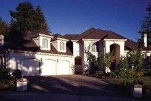 Dream House Plan - Mediterranean Exterior - Front Elevation Plan #48-141