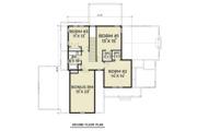Craftsman Style House Plan - 4 Beds 2.5 Baths 2521 Sq/Ft Plan #1070-35 Floor Plan - Upper Floor