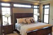 Craftsman Style House Plan - 3 Beds 2.5 Baths 2510 Sq/Ft Plan #70-1481 Interior - Master Bedroom