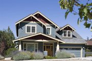 Craftsman Style House Plan - 4 Beds 2.5 Baths 1946 Sq/Ft Plan #48-115 Exterior - Front Elevation