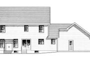 Traditional Style House Plan - 4 Beds 2.5 Baths 1871 Sq/Ft Plan #316-118 Exterior - Rear Elevation