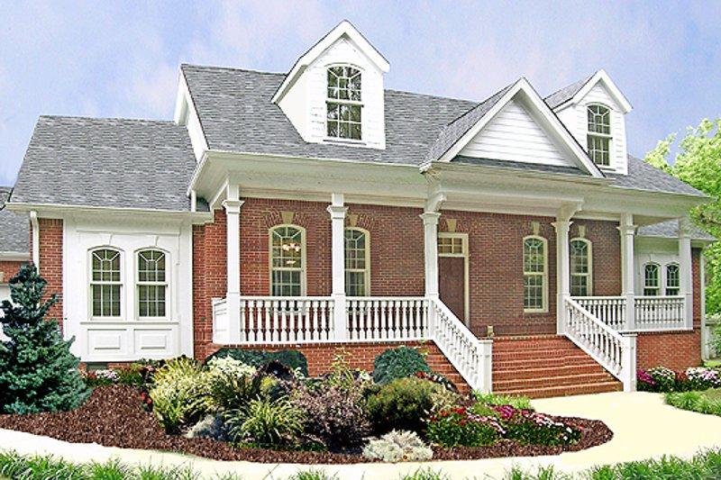 Southern Style House Plan - 3 Beds 2.5 Baths 2282 Sq/Ft Plan #456-13