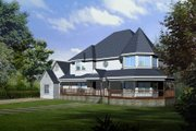 European Style House Plan - 5 Beds 3 Baths 2864 Sq/Ft Plan #1-1125 Exterior - Front Elevation