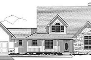 Traditional Exterior - Front Elevation Plan #67-456