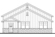 Craftsman Style House Plan - 1 Beds 1 Baths 1847 Sq/Ft Plan #124-1071 Exterior - Other Elevation