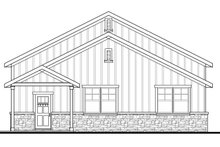 Craftsman Exterior - Other Elevation Plan #124-1071