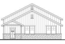 House Plan Design - Craftsman Exterior - Other Elevation Plan #124-1071