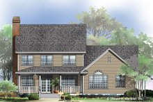 Dream House Plan - Farmhouse Exterior - Rear Elevation Plan #929-688