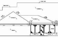 Farmhouse Exterior - Rear Elevation Plan #36-202