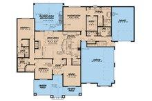 Country Floor Plan - Main Floor Plan Plan #923-36