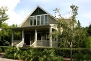 Beach Style House Plan - 3 Beds 3 Baths 2484 Sq/Ft Plan #443-3 Exterior - Front Elevation