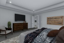 Home Plan - Ranch Interior - Master Bedroom Plan #1060-99
