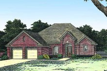Home Plan - Colonial Exterior - Front Elevation Plan #310-770