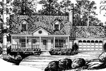House Plan Design - Traditional Exterior - Other Elevation Plan #40-202