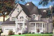 European Style House Plan - 4 Beds 2.5 Baths 3196 Sq/Ft Plan #25-283