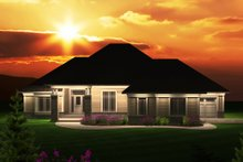 Dream House Plan - Traditional Exterior - Front Elevation Plan #70-1122