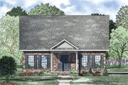 Traditional Style House Plan - 3 Beds 2 Baths 1734 Sq/Ft Plan #17-2420 Exterior - Other Elevation